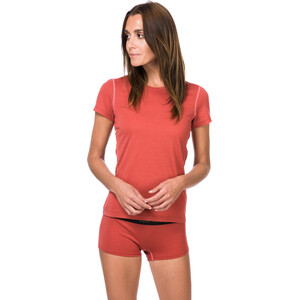 super.natural Base 175 T-Shirt Damen tandoori/georgia peach tandoori/georgia peach