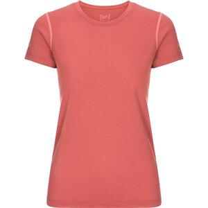 super.natural Base 175 T-Shirt Damen tandoori/georgia peach tandoori/georgia peach