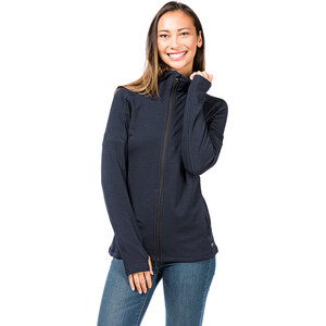 super.natural Motion Zip Hood Women, blue black blue black