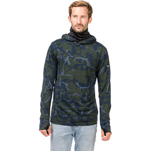 super.natural Mountain Hoodie Herren duffel bag camo/jet black duffel bag camo/jet black