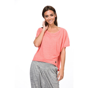 super.natural Motion Peyto T-Shirt Damen georgia peach melange georgia peach melange