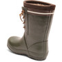 bisgaard Lace Thermo Rubber Boots Barn Green