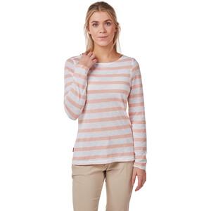 Craghoppers NosiLife Erin II Langarm Shirt Damen corsage pink stripe corsage pink stripe