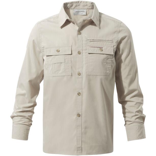 Craghoppers Adventure Trek Long Sleeved Shirt Barn beige