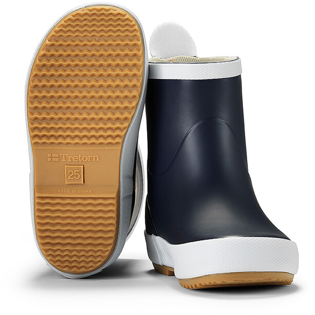 Tretorn Wings Rubber Boots Barn navy