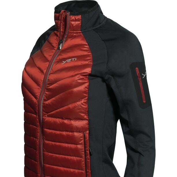 Y by Nordisk Echo Isolierende Hybrid Jacke Damen rot