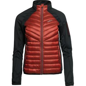Y by Nordisk Echo Isolierende Hybrid Jacke Damen rot rot