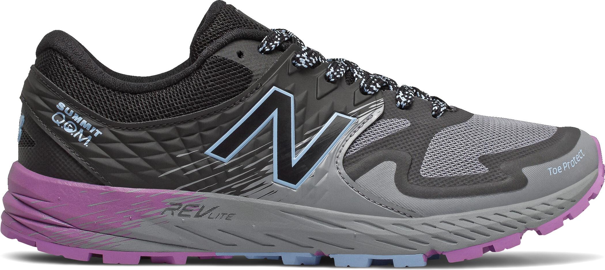 New Balance Summit Q.O.M Trail Running Schuhe Damen grey