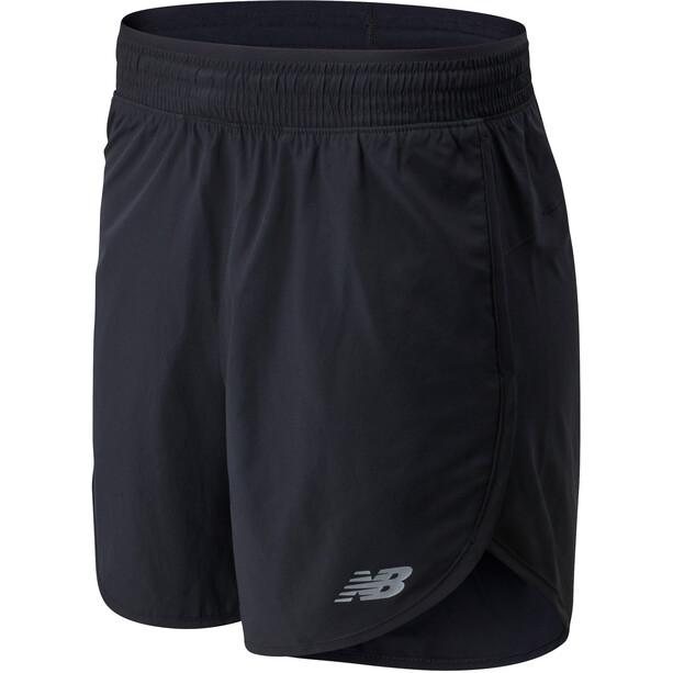 "New Balance Accelerate 5"" Shorts Damen black"