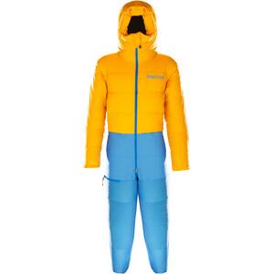 Marmot Warmcube 8000M Anzug Herren solar/clear blue solar/clear blue