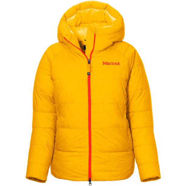 Marmot Mount Tyndall Huppari Naiset, oranssi