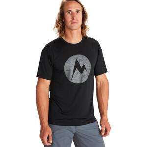Marmot Transporter Kurzarm T-Shirt Herren black black
