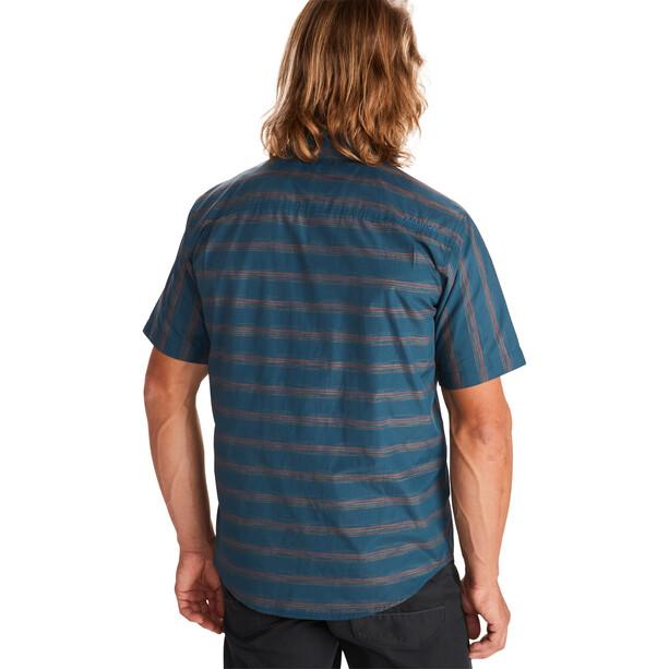 Marmot Beacon Hill SS Shirt Men, denim