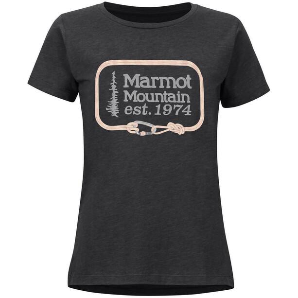 Marmot Ascender Kurzarm T-Shirt Damen grau