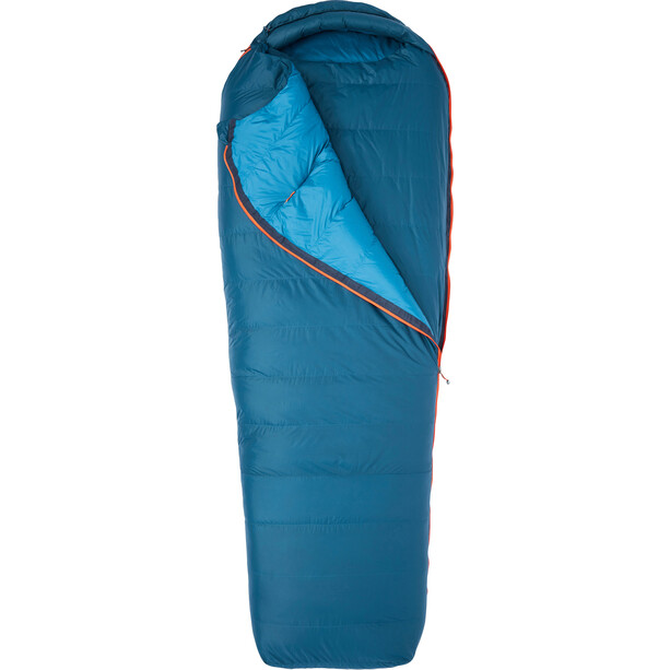 Marmot Yolla Bolly 15 Sac de couchage Short long, denim/atlantic