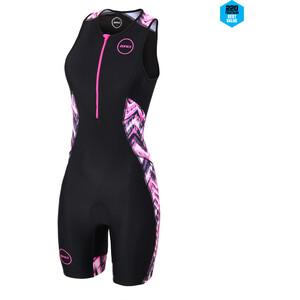 Zone3 Activate Plus Trisuit Damen schwarz/pink schwarz/pink