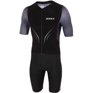 Zone3 Aeroforce-X Trisuit Men, musta/harmaa musta/harmaa