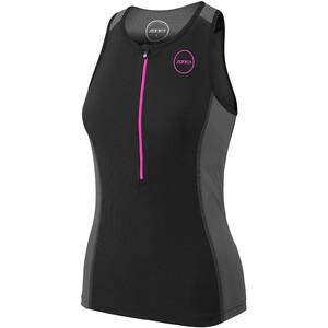 Zone3 Aquaflo Plus Top Damen black/grey/neon pink black/grey/neon pink
