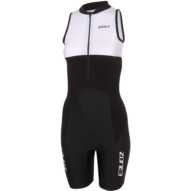 Zone3 Lava Long Distance Trisuit Damen black/white/green