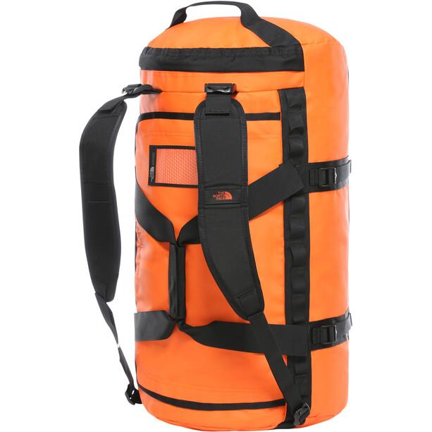 The North Face Base Camp Duffel M persian orange/tnf black
