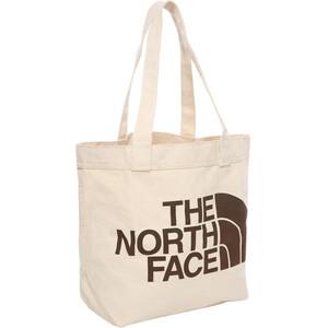 The North Face Cotton Tragetasche wimaraner brown large logo print wimaraner brown large logo print
