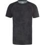 The North Face Ambition Kurzarmshirt Herren asphalt grey grunde print/tnf black