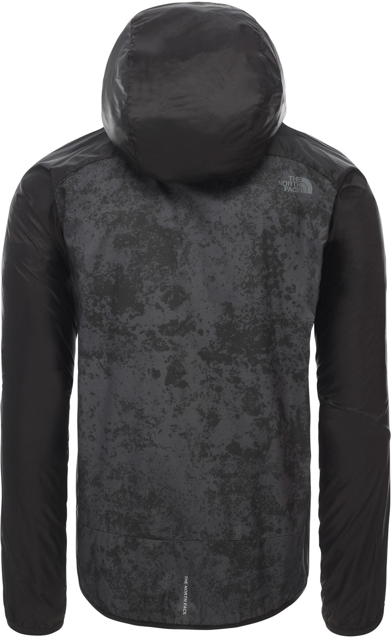The North Face Ambition Windjacke Herren asphalt grey grunge printtnf black