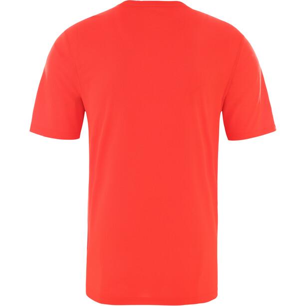 The North Face Flex II Kurzarmshirt Herren fiery red