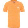 flame orange white heather