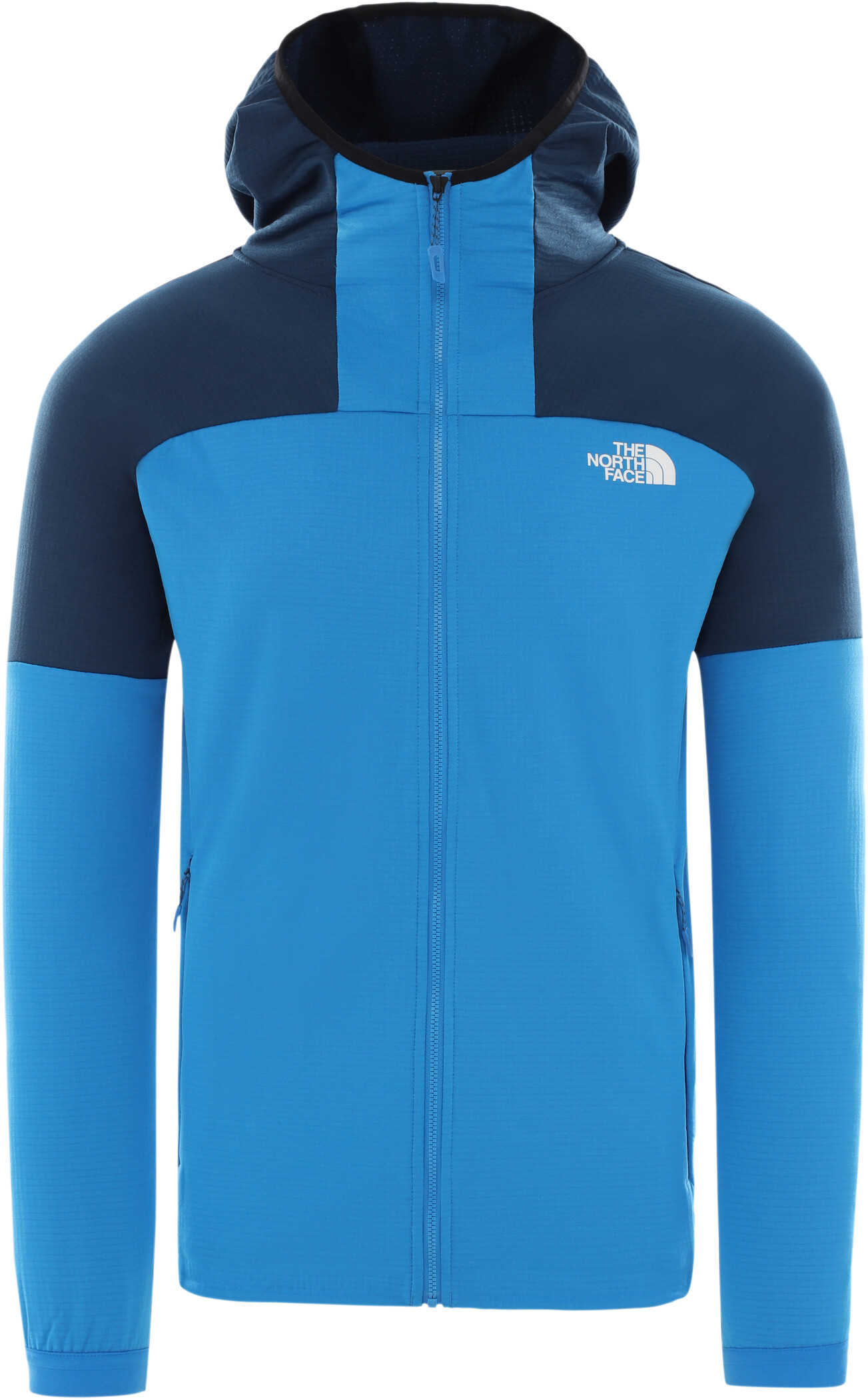 The North Face M IMPENDOR GRID HOODIE, Bomber Blue