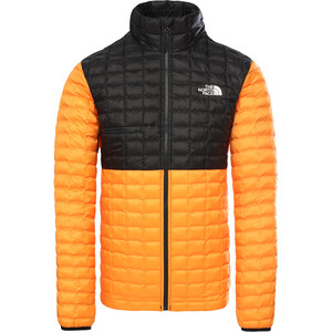 The North Face ThermoBall Eco Light Jacke Herren flame orange/tnf black flame orange/tnf black