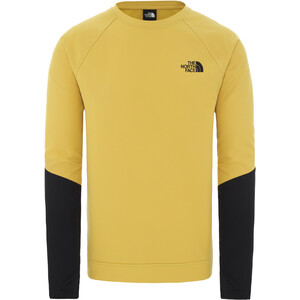 The North Face Tekno Ridge Rundhals-Pullover Herren bamboo yellow/tnf black bamboo yellow/tnf black