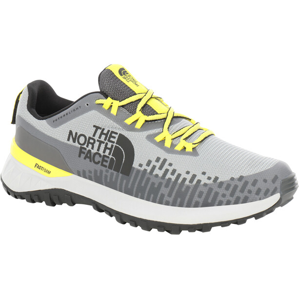 The North Face Ultra Traction FutureLight Schuhe Herren griffin grey/tnf lemon