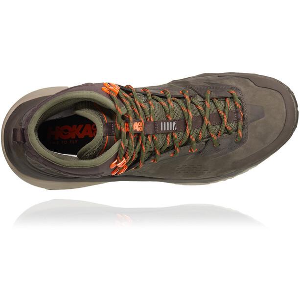Hoka One One Kaha GTX Shoes Herr black olive/green