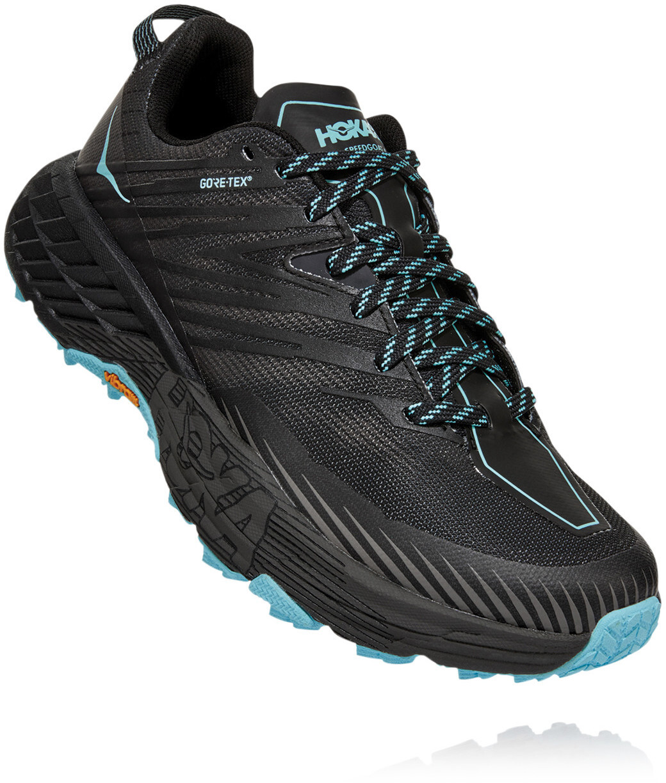 Hoka One One Speedgoat 4 GTX Running Shoes Dam anthracitedark gull grey