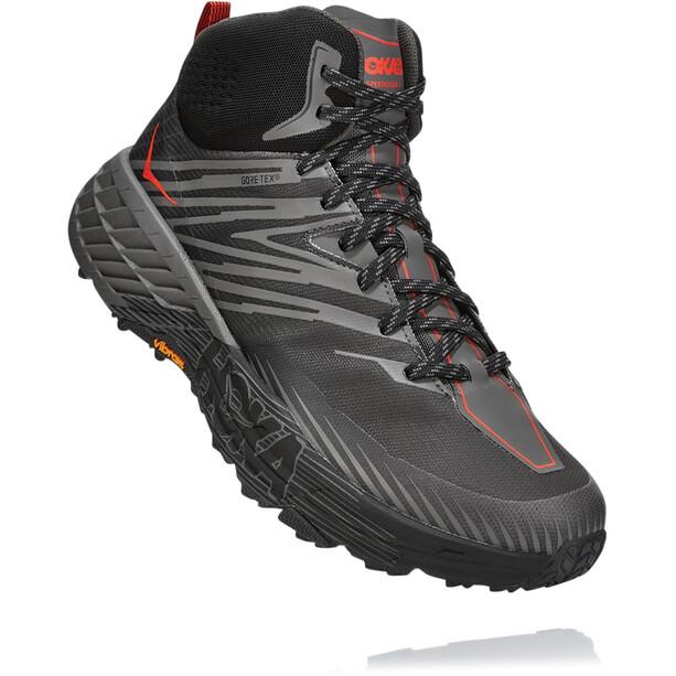 Hoka One One Speedgoat Mid 2GTX Running Shoes Herr anthracite/dark gull grey