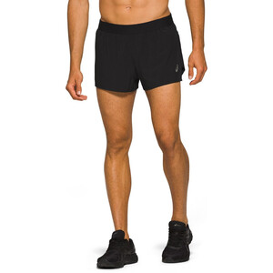 asics Road Split Shorts Herren performance black performance black
