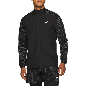 asics Night Track Jacke Herren night track black night track black