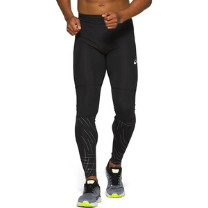 asics Night Track Tights Herren night track black night track black