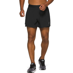 "asics Road 2-N-1 5"" Shorts Herren performance black performance black"