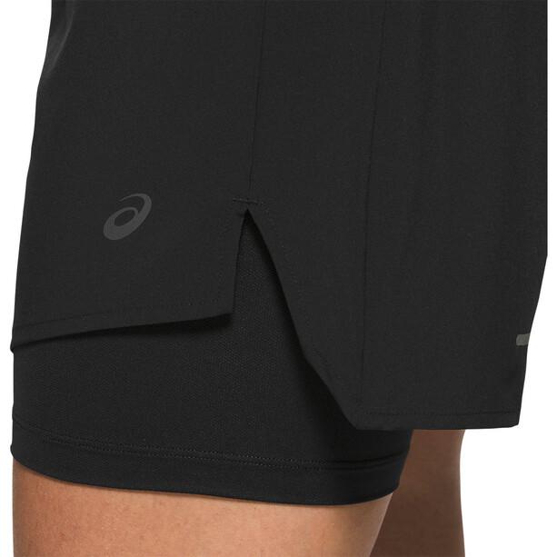 "asics Road 2-N-1 5,5"" Shorts Damen performance black"