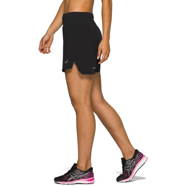 "asics Road 7"" Shorts Damen performance black"