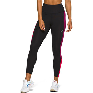 asics Tokyo High-Waist Tights Damen performance black/dried berry performance black/dried berry