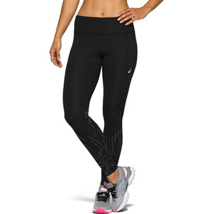 asics Night Track Tights Damen night track black night track black