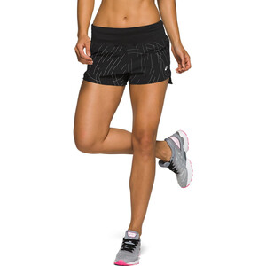 asics Night Track Shorts Damen night track black aop night track black aop