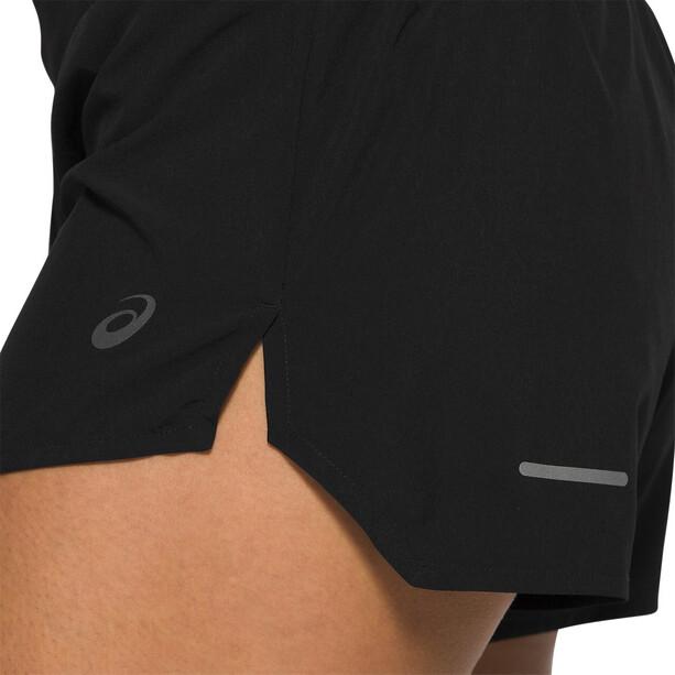 "asics Road 3,5 ""shorts Dame svart"