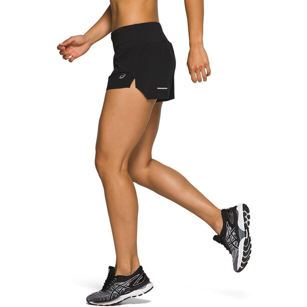 "asics Road 3,5"" Shorts Damen performance black"