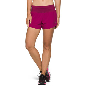 "asics Road 3,5"" Shorts Damen dried berry dried berry"