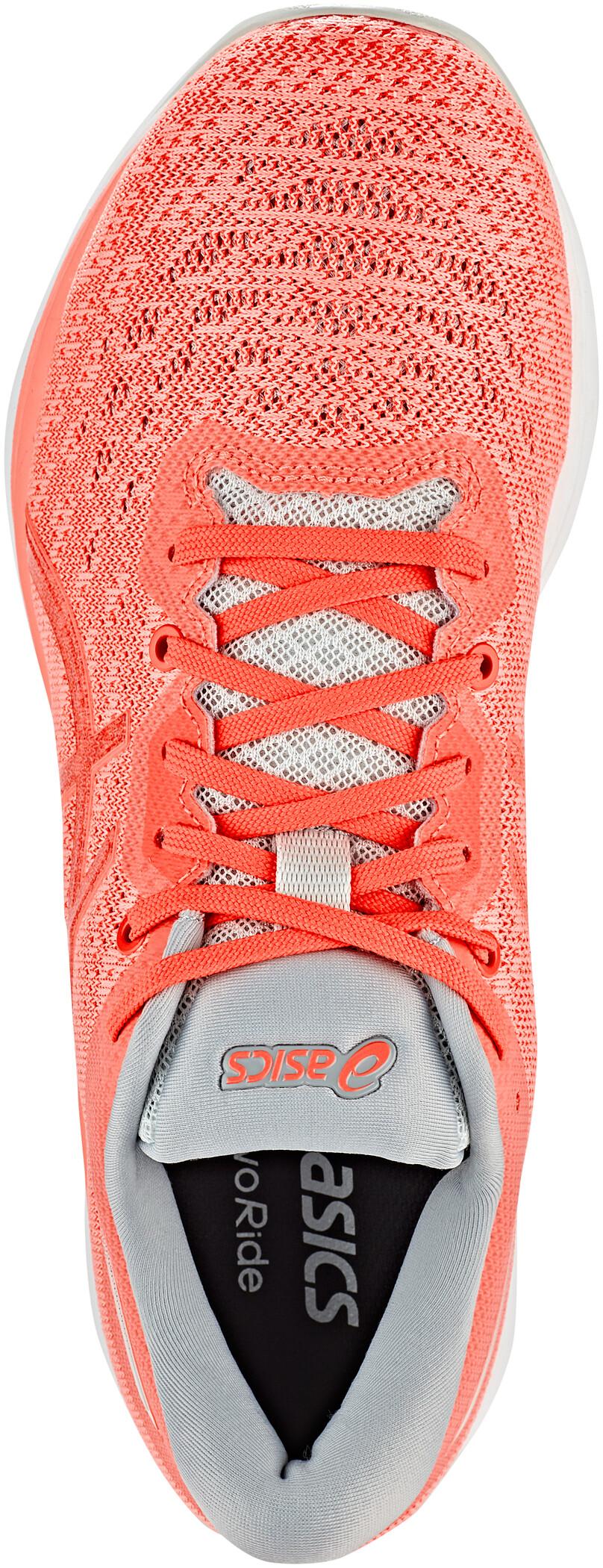 asics Evoride Schuhe Damen sun coralflash coral