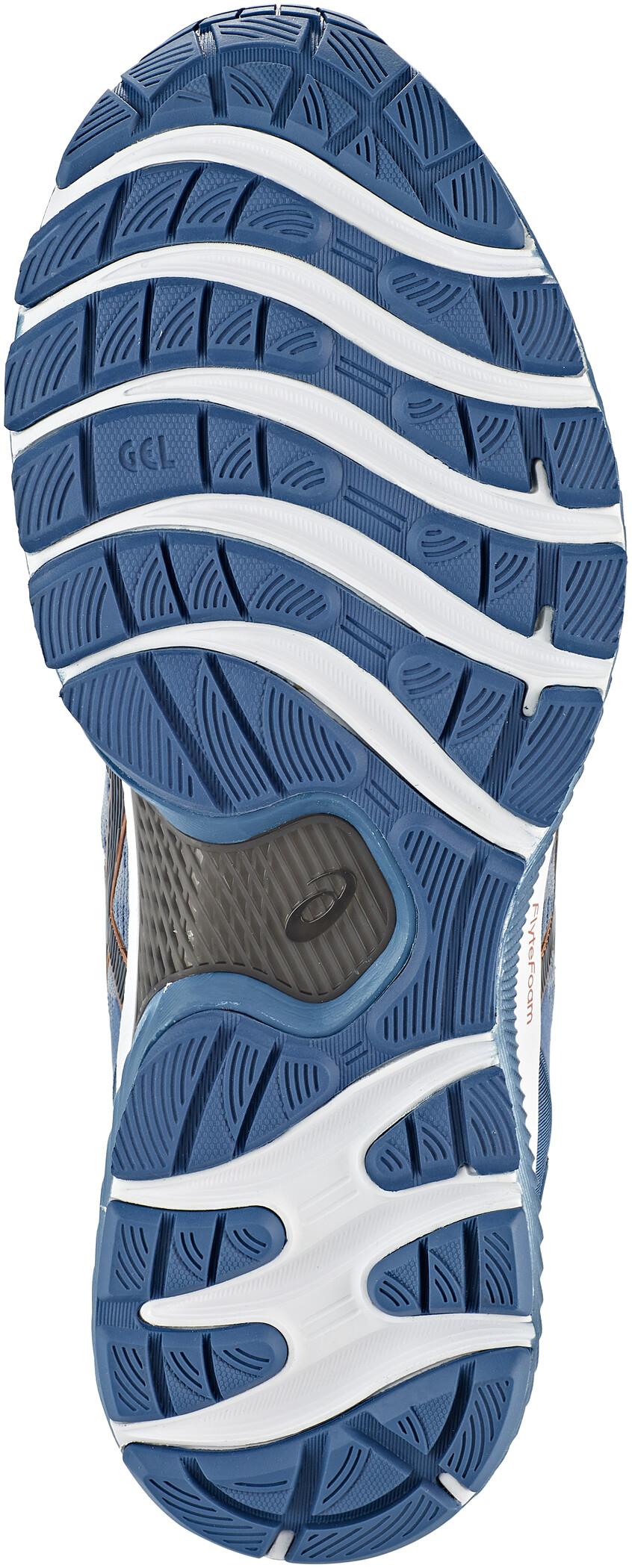 asics Gel Nimbus 22 Shoes Men sheet rockgraphite grey
